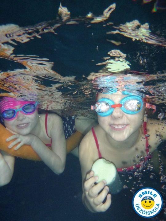 úszásoktatás hétvégén